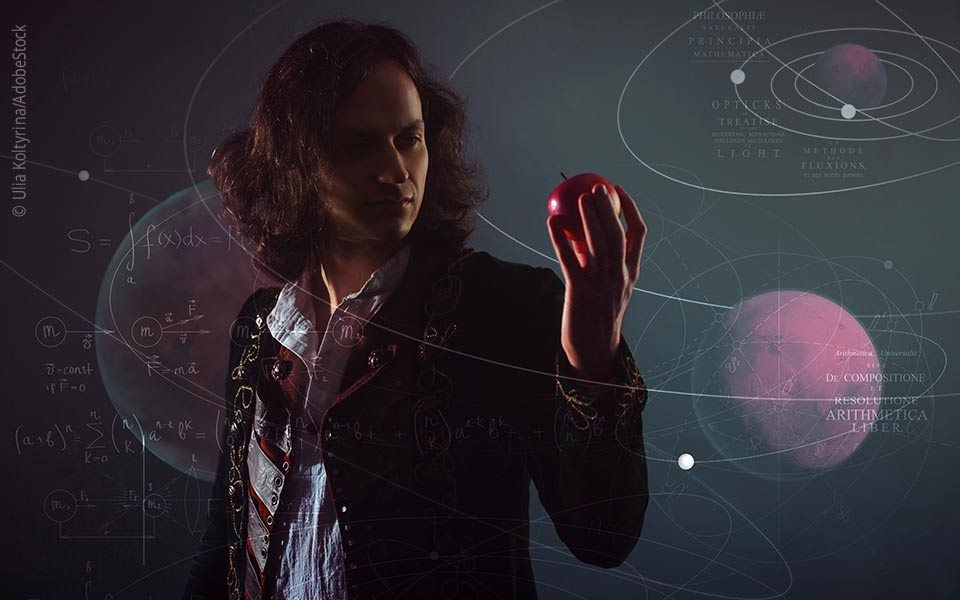 Isaac Newton: hochbegabte Frühgeburt