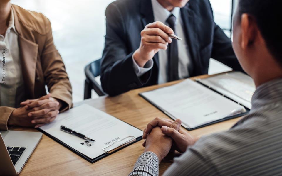 Tipps für die Stellenbewerbung: Das Vorstellungsgespräch (1)