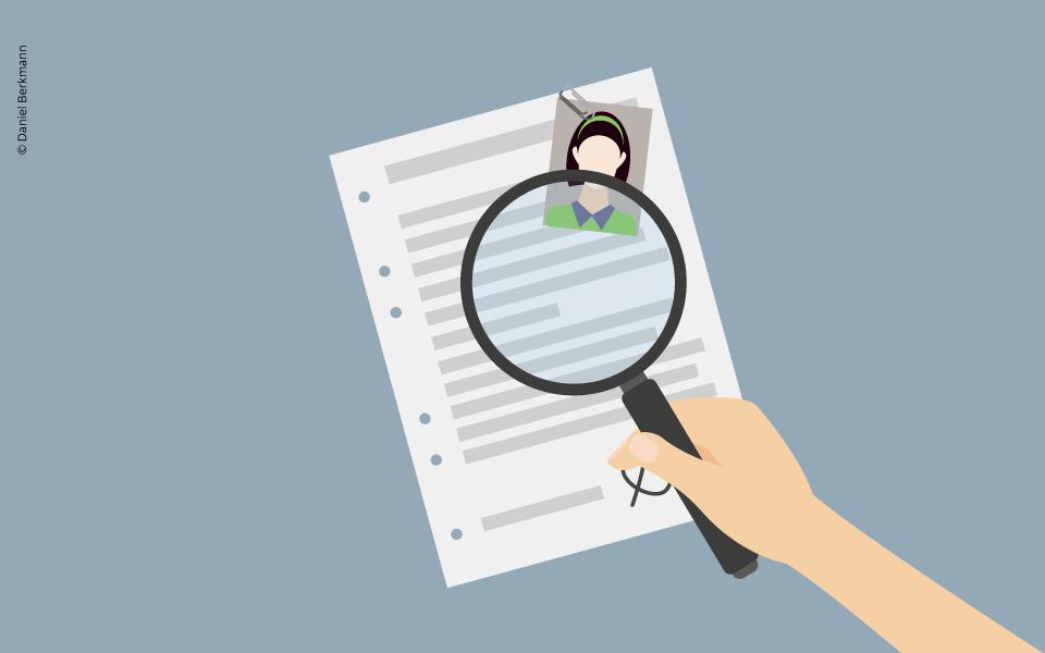 Tipps für die Stellenbewerbung: Der Lebenslauf