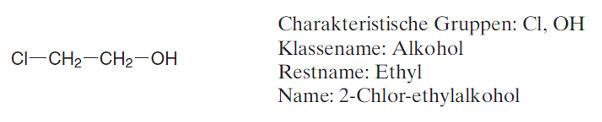 radikofunktionelle Nomenklatur (IUPAC-Regeln)